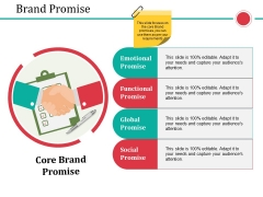 Brand Promise Ppt PowerPoint Presentation Pictures Demonstration