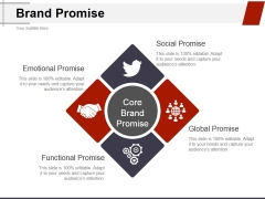 Brand Promise Ppt PowerPoint Presentation Pictures Example