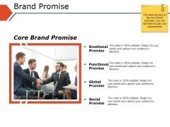 Brand Promise Ppt PowerPoint Presentation Portfolio Elements