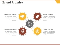 Brand Promise Ppt PowerPoint Presentation Rules