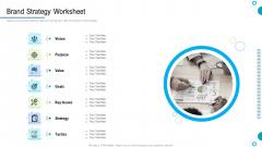 Brand Promotion And Management Plan Brand Strategy Worksheet Demonstration PDF