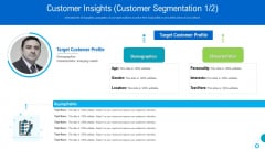 Brand Promotion And Management Plan Customer Insights Customer Segmentation Age Pictures PDF