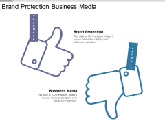 Brand Protection Business Media Ppt PowerPoint Presentation Icon Design Templates