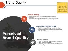 Brand Quality Ppt PowerPoint Presentation Gallery Design Ideas