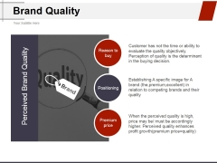 Brand Quality Ppt PowerPoint Presentation Ideas Summary
