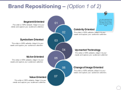 Brand Repositioning Template 1 Ppt PowerPoint Presentation Model Templates