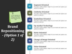 Brand Repositioning Template 1 Ppt PowerPoint Presentation Outline Rules