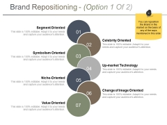 Brand Repositioning Template 1 Ppt PowerPoint Presentation Show Smartart