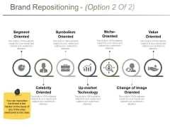 Brand Repositioning Template 2 Ppt PowerPoint Presentation Ideas Graphics Example