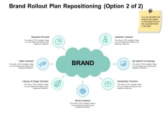 Brand Rollout Plan Repositioning Segment Ppt PowerPoint Presentation Summary Layout Ideas