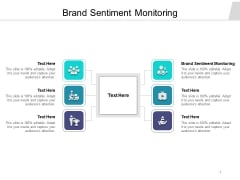 Brand Sentiment Monitoring Ppt PowerPoint Presentation Portfolio Graphics Download Cpb Pdf