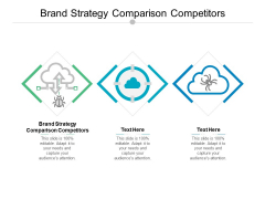Brand Strategy Comparison Competitors Ppt PowerPoint Presentation Gallery Guide Cpb