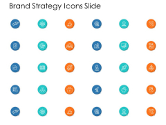 Brand Strategy Icons Slide Ppt Powerpoint Presentation Gallery Designs