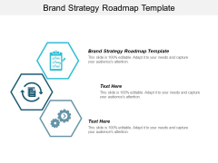 Brand Strategy Roadmap Template Ppt PowerPoint Presentation Outline Example Topics Cpb