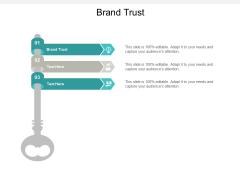 Brand Trust Ppt PowerPoint Presentation Inspiration Portfolio Cpb