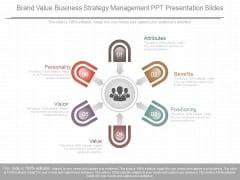 Brand Value Business Strategy Management Ppt Presentation Slides