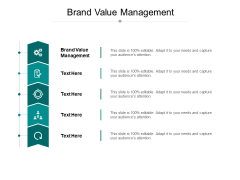 Brand Value Management Ppt PowerPoint Presentation Professional Background Image Cpb