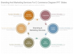 Branding And Marketing Services For E Commerce Diagram Ppt Slides