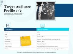 Branding Approach Marketing Strategies Target Audience Profile Region Ppt Styles PDF