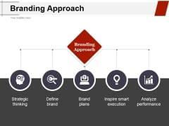 Branding Approach Ppt PowerPoint Presentation Pictures Rules