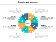 Branding Awareness Ppt PowerPoint Presentation Visual Aids Outline Cpb