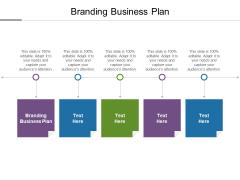 Branding Business Plan Ppt PowerPoint Presentation Ideas Format Ideas Cpb