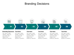 Branding Decisions Ppt PowerPoint Presentation Files Cpb