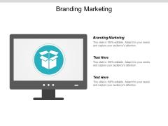 Branding Marketing Ppt PowerPoint Presentation Model Design Inspiration Cpb