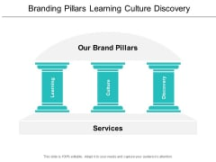 Branding Pillars Learning Culture Discovery Ppt Powerpoint Presentation Slides Designs Download