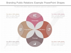 Branding Public Relations Example Powerpoint Shapes
