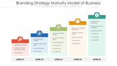 Branding Strategy Maturity Model Of Business Ppt Professional File Formats PDF