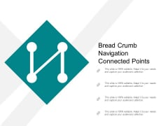 Bread Crumb Trail Showing Route Icon With Box Ppt Powerpoint Presentation Slides Influencers