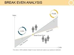 Break Even Analysis Ppt PowerPoint Presentation Slides