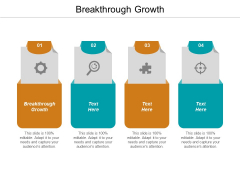 Breakthrough Growth Ppt PowerPoint Presentation Professional Clipart Images Cpb