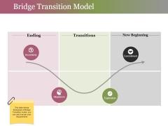 Bridge Transition Model Ppt PowerPoint Presentation Gallery Infographics