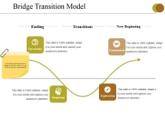 Bridge Transition Model Ppt PowerPoint Presentation Icon Format Ideas