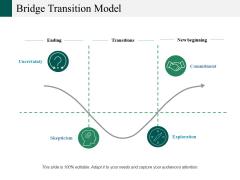Bridge Transition Model Ppt PowerPoint Presentation Infographics Example