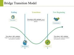 Bridge Transition Model Ppt PowerPoint Presentation Model Introduction