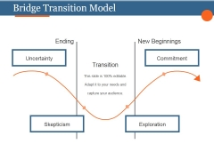 Bridge Transition Model Template 1 Ppt PowerPoint Presentation Guide