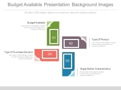 Budget Available Presentation Background Images