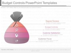 Budget Controls Powerpoint Templates