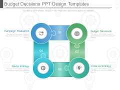 Budget Decisions Ppt Design Templates