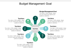 Budget Management Goal Ppt PowerPoint Presentation Summary Design Templates Cpb