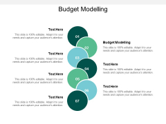 Budget Modelling Ppt PowerPoint Presentation File Show Cpb