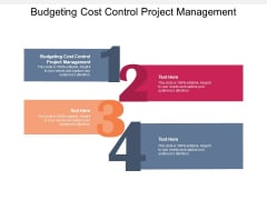 Budgeting Cost Control Project Management Ppt PowerPoint Presentation Professional Example Introduction Cpb Pdf