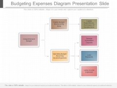 Budgeting Expenses Diagram Presentation Slide