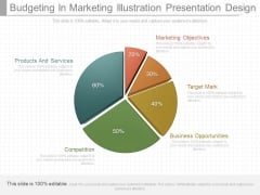 Budgeting In Marketing Illustration Presentation Design
