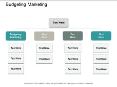 Budgeting Marketing Ppt PowerPoint Presentation Infographic Template Structure Cpb
