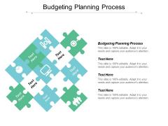 Budgeting Planning Process Ppt PowerPoint Presentation Portfolio Sample Cpb