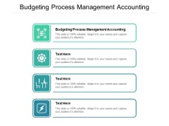 Budgeting Process Management Accounting Ppt PowerPoint Presentation Gallery Design Templates Cpb